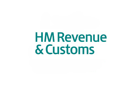 HMRC gift aid logo integrated with Merlin Charity
